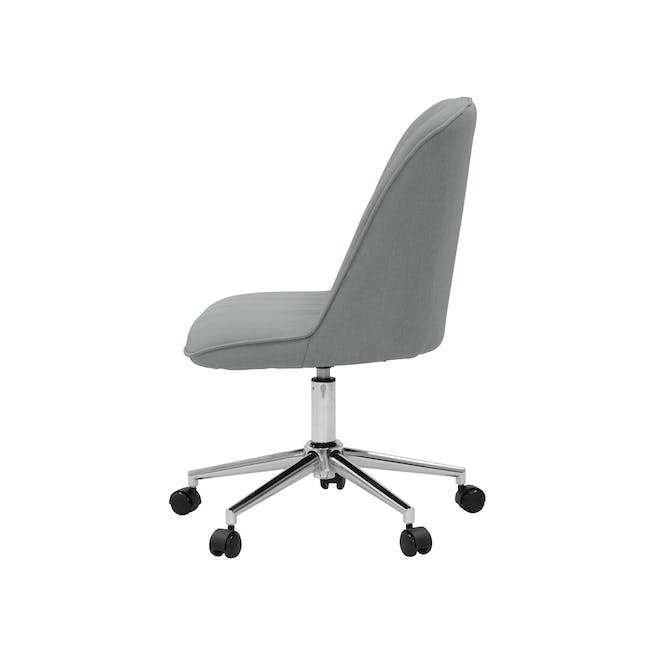 Harper Mid Back Office Chair - Grey - 2