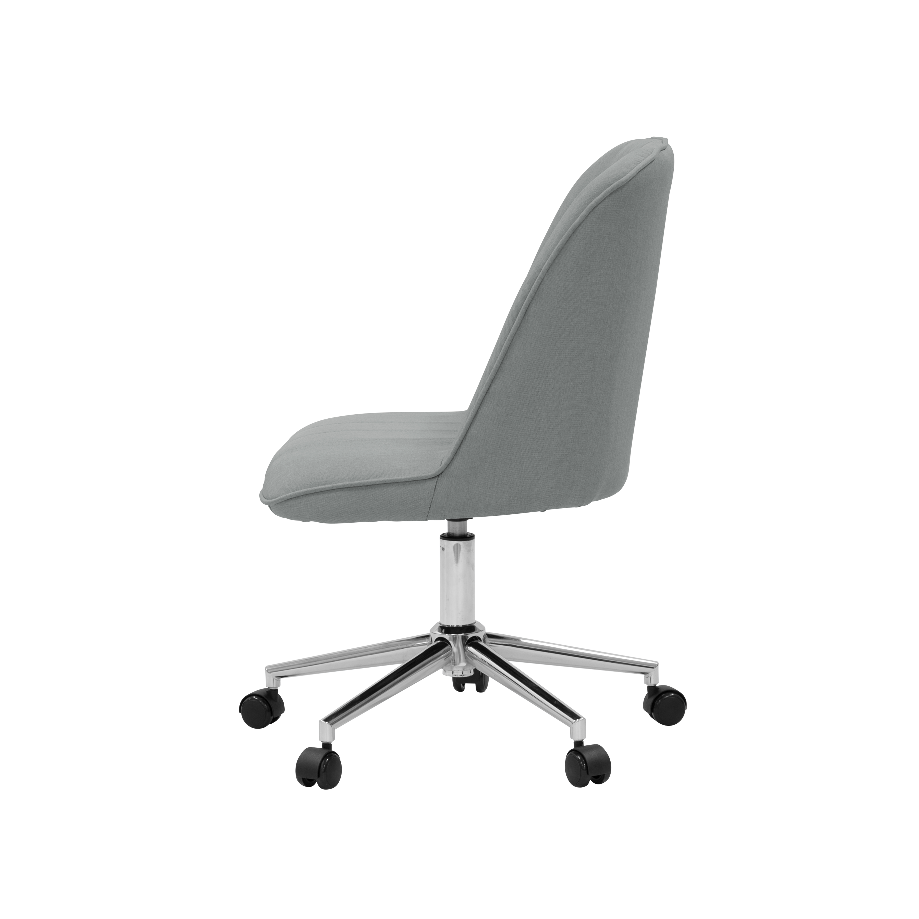 office chair side. Beautiful Office Harper Mid Back Office Chair  Grey For Side O