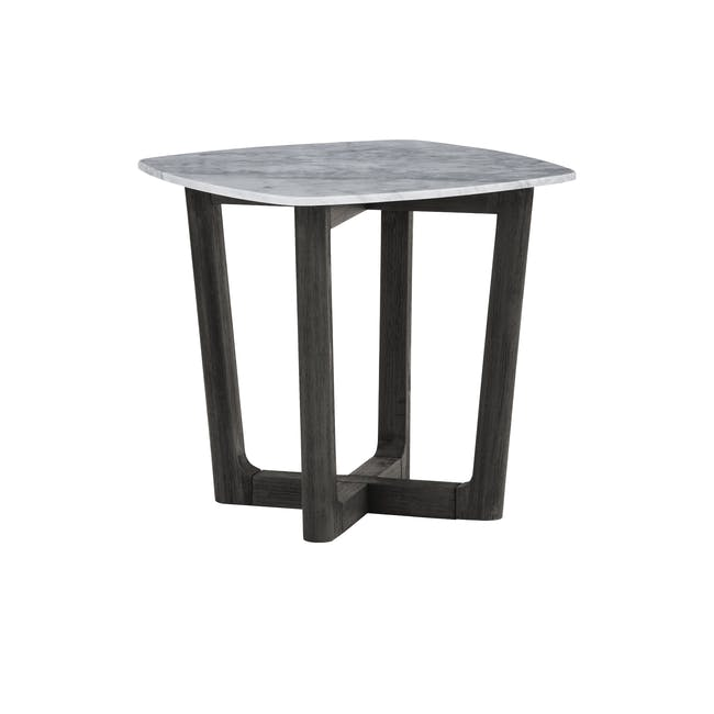 Carson Marble Coffee Table with Carson Marble Side Table - 5