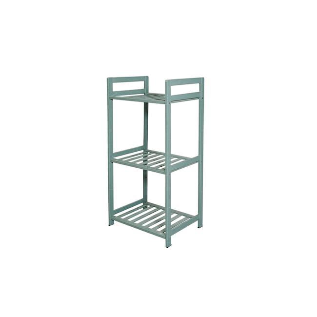 Ecohouze 3 Tier Bamboo Storage Shelf - Green (2 Sizes) - 0