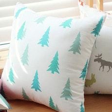 Nordic Christmas Trees Cushion