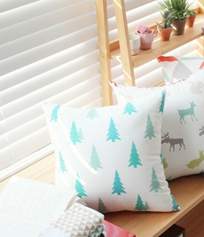 Nordic Christmas Trees Cushion