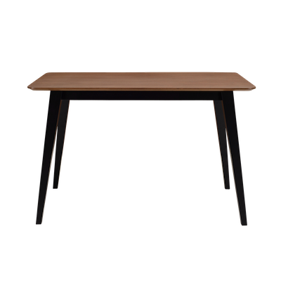 Ralph Dining Table 1.2m - Black, Cocoa - Image 1