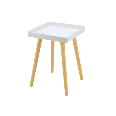 Garrett Side Table - White - Image 1