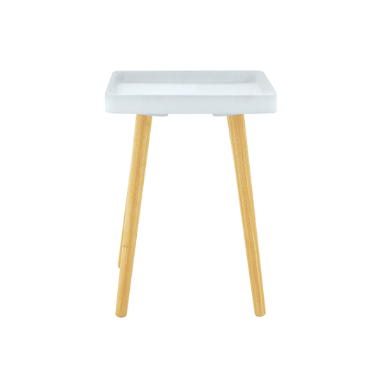 Laholm - Garrett Side Table - White