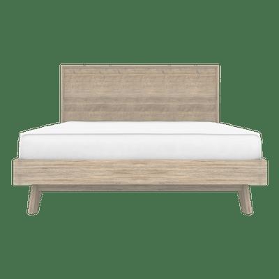 Leland King Bed with 2 Leland Single Drawer Bedside Tables - Image 2