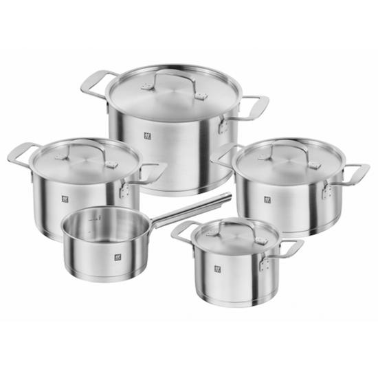 Zwilling Base Cookware 5pc Set, Zwilling J.A Henckels | HipVan