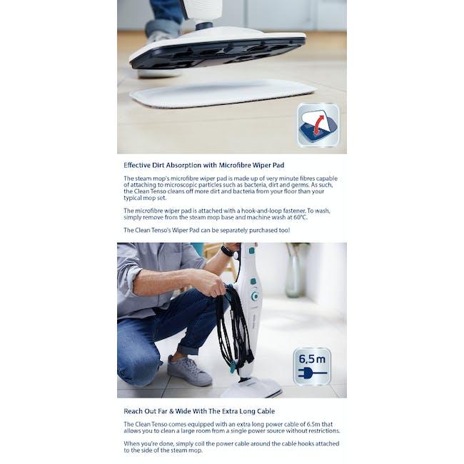Leifheit Handheld Portable Steam Mop Steam Cleaner - 5