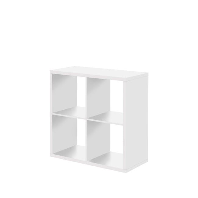 Taina4 Shelving Unit - White - 0