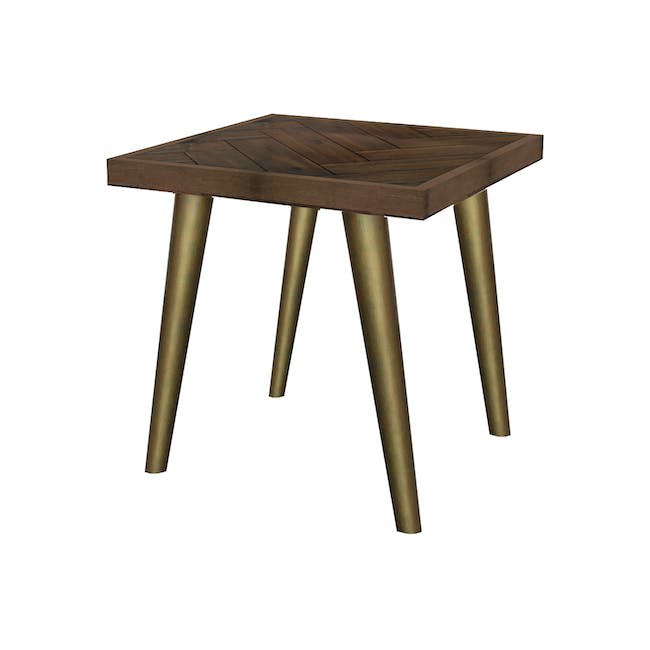Cadencia Twin Drawer Coffee Table with Cadencia Side Table - 1