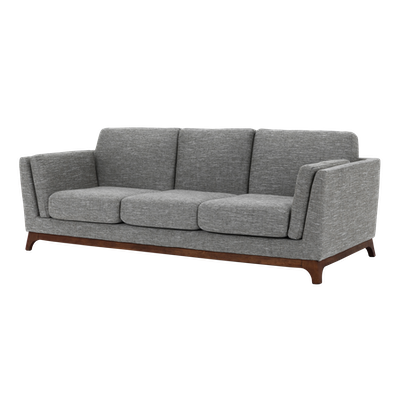 Elijah 3 Seater Sofa with Elijah Armchair - Pebble - Image 2