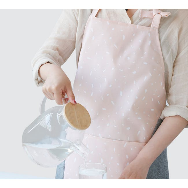 Bailey Apron - Pink - 1