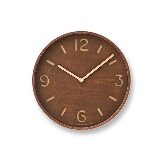 Lemnos - Thomson Wall Clock - Walnut