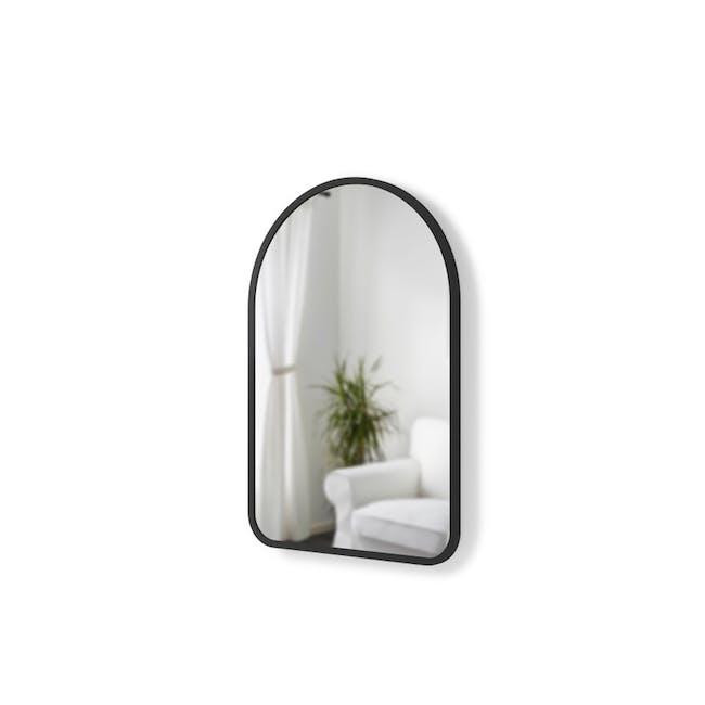 Hub Arched Wall Mirror 61 x 91 cm - Black - 7