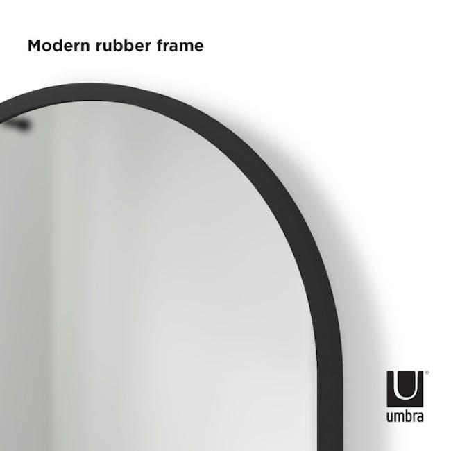 Hub Arched Wall Mirror 61 x 91 cm - Black - 5