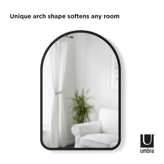 Hub Arched Wall Mirror 61 x 91 cm - Black - 6