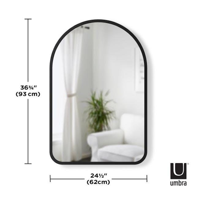 Hub Arched Wall Mirror 61 x 91 cm - Black - 8