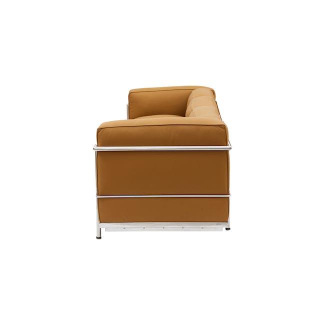 LC3 3 Seater Sofa Replica - Tan (Geuine Cowhide) - 2