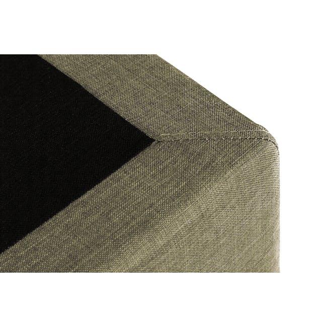 ESSENTIALS Single Divan Bed - Khaki (Fabric) - 3