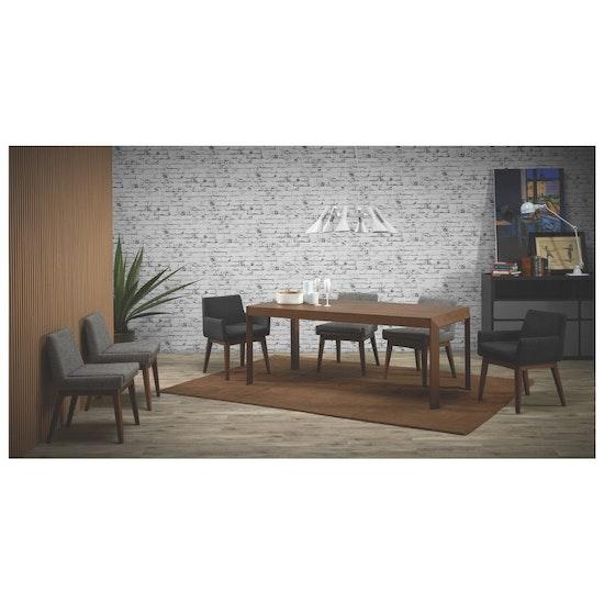 Preloved - (Display Piece) Fabian Dining Chair - Natural, Aquamarine - 1