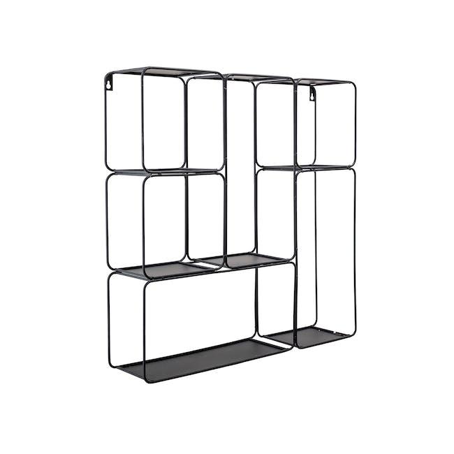 Vegas Wall Shelf - Black - 1