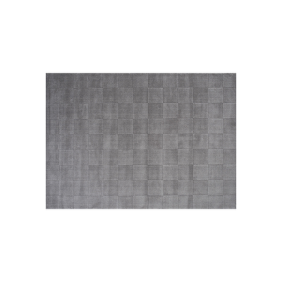Lotta Checkers Rug (2m by 3m) - Light Grey - Image 2