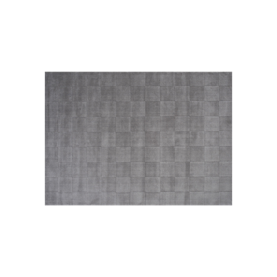 Lotta Checkers Rug 3m by 2m - Light Grey - Image 2