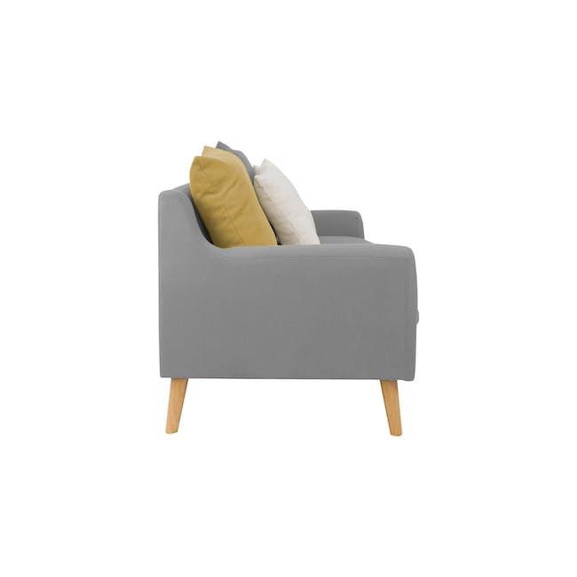Evan 3 Seater Sofa with Evan Armchair - Slate - 3