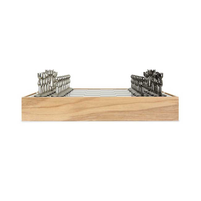 Buddy Chess Set - Natural - 2