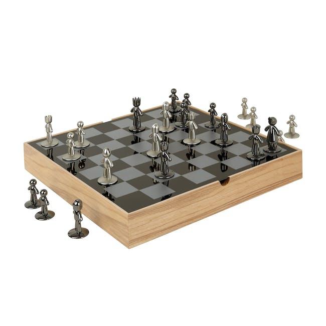 Buddy Chess Set - Natural - 0