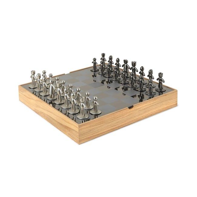 Buddy Chess Set - Natural - 1