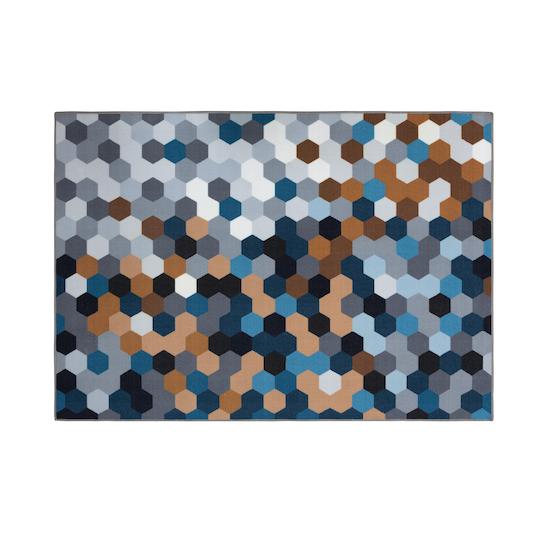 Keliss - Grayson Low Pile Rug 1.7m x 1.2m - Autumn