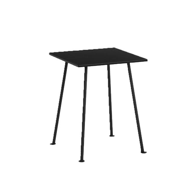 Gable Side Table - Walnut - 1