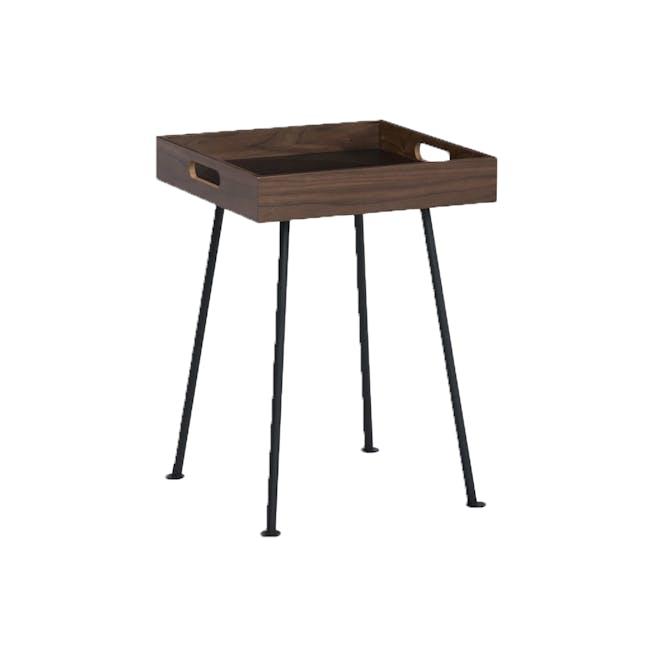 Gable Side Table - Walnut - 4