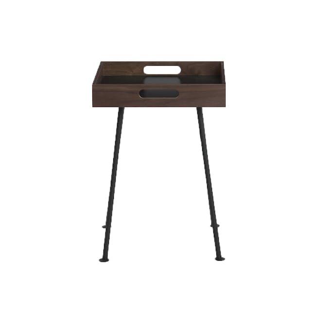 Gable Side Table - Walnut - 3