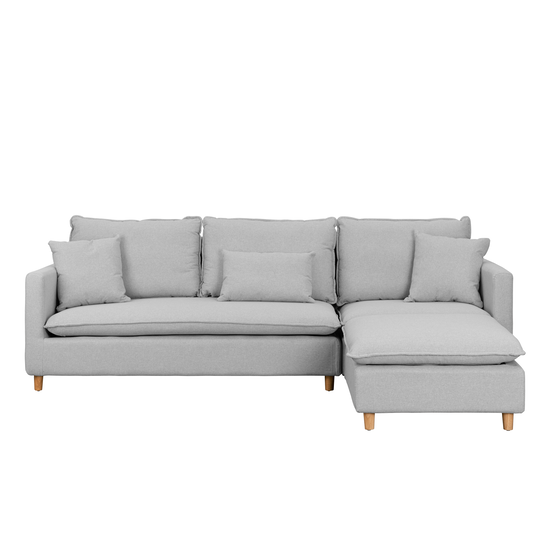 Camden L-Shaped Sofa - Slate Grey