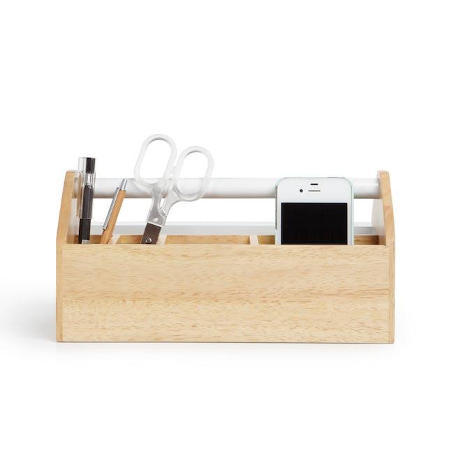 Toto Medium Box - White, Natural - 1