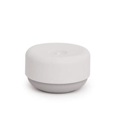 Instant Soap Dish Dispenser with Non-Slip Base - White, Grey