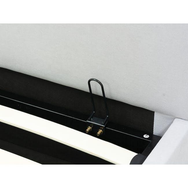 Nolan Single Storage Bed - Silver Fox - 5