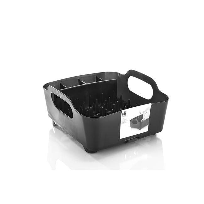 Tub Dish Rack - Smoke - 1