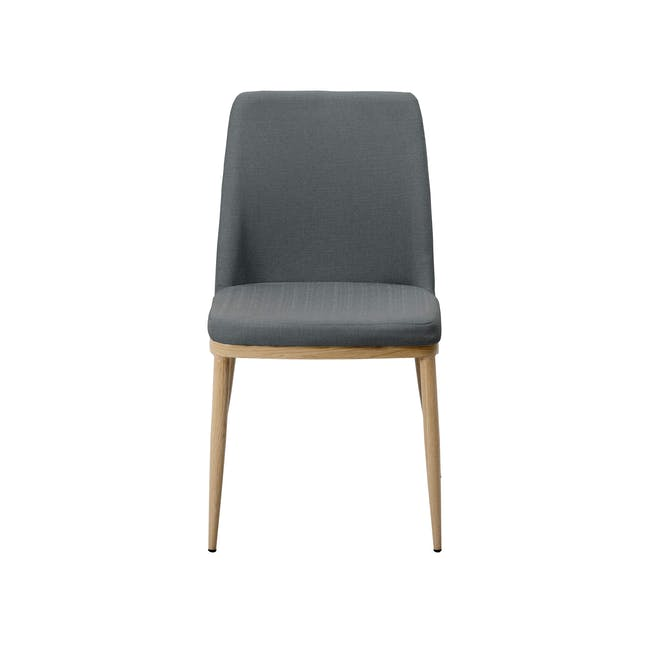 Kate Dining Chair - Oak, River Grey - 1