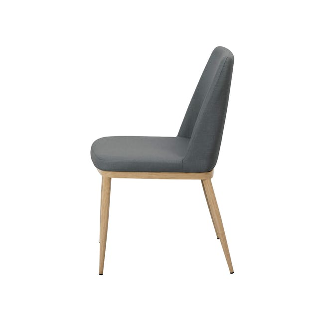 Kate Dining Chair - Oak, River Grey - 2