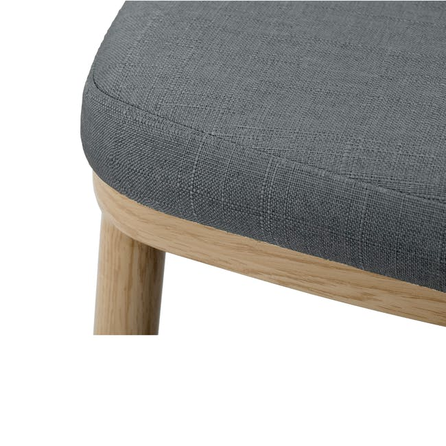 Kate Dining Chair - Oak, River Grey - 4