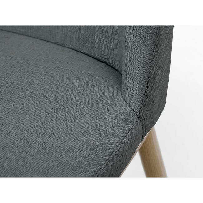 Kate Dining Chair - Oak, River Grey - 5