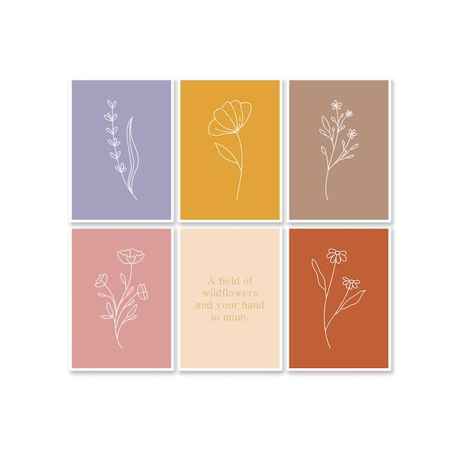 Borderless Positive Art Print on Paper (2 Sizes) - Carnation - 2