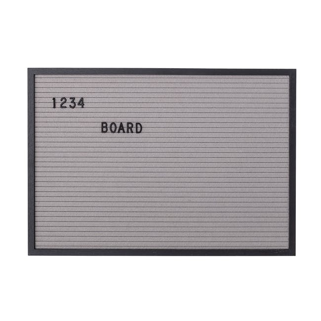 Felt Letter Board with 125 Letters - Large - 0
