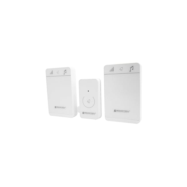 SOUNDTEOH Wireless Digital Doorbell DD-123 - 4