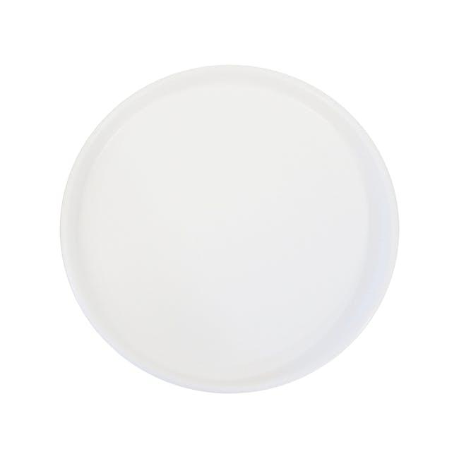 Ceramic Display Tray - White - 0