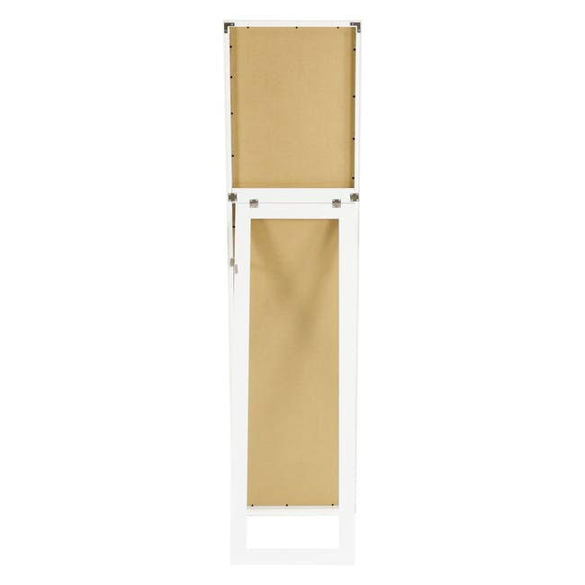 Zoey Standing Mirror 30 x 150 cm - White - 4