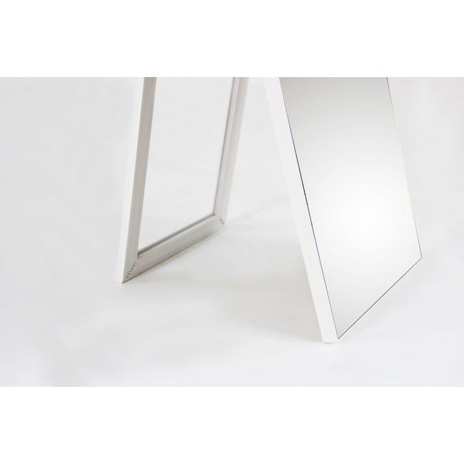 Zoey Standing Mirror 30 x 150 cm - White - 5